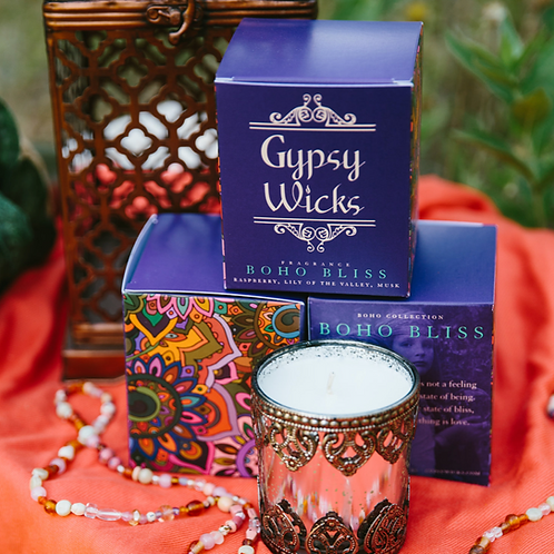 Carnival Collection - Boho Bliss - Gypsy Wicks Candles