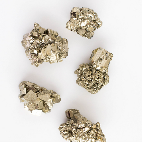 Pyrite Cluster - Powerful Crystal for Manifestation, Money & Good Luck
