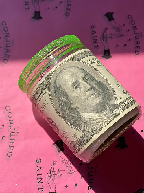 Mini Money 3-Day Ritual Candle-  Bring in Cash, Abundance & Wealth