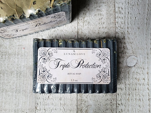 Triple Protection Ritual Soap- Powerful Protection