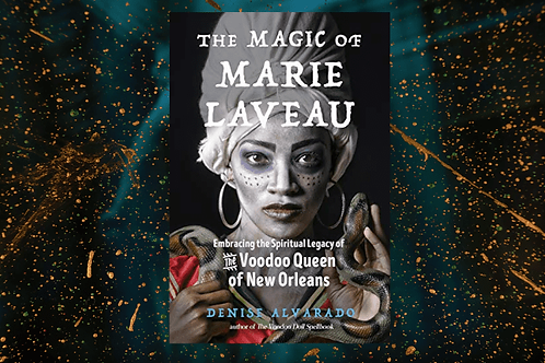 The Magic of Marie Laveau Book + FREE GIFT
