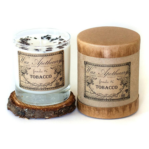 Wax Apothecary TobaccoCandle- Comforting, Grounding, Help Relieve Headaches