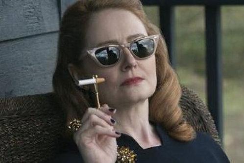 Aunt Zelda's Cigarette Holder Ring - Sliver - Witchy Chic -