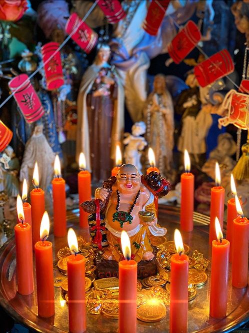 The Lunar New Year- February 12- Chinese New Year- Candle & petition Service
