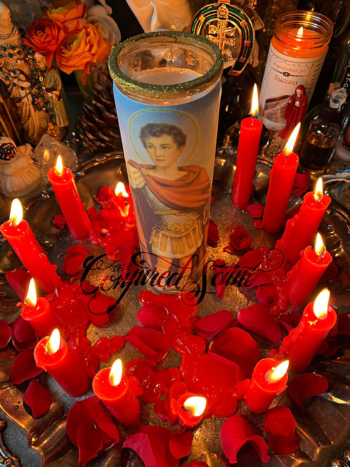 Saint Expedite Feast Day Service -April 19th- Candle & Petition