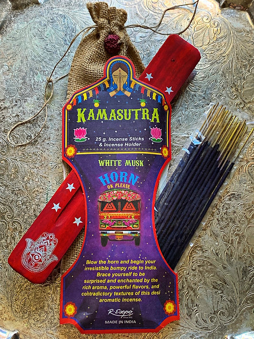 Kamasutra Incense Set- Aromatic Aphrodisiac, Joy & Sexual Harmony