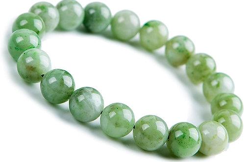 Jade -Gemstone Bracelet- Endless Good Luck, Money Attracting Energy, Friendships