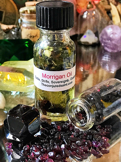 Morrigan Oil- Overcoming Enemies, Goddess Worship, Will Power and Courage