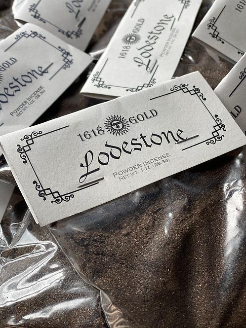 Lodestone Powder Incense - Spell Enhancer