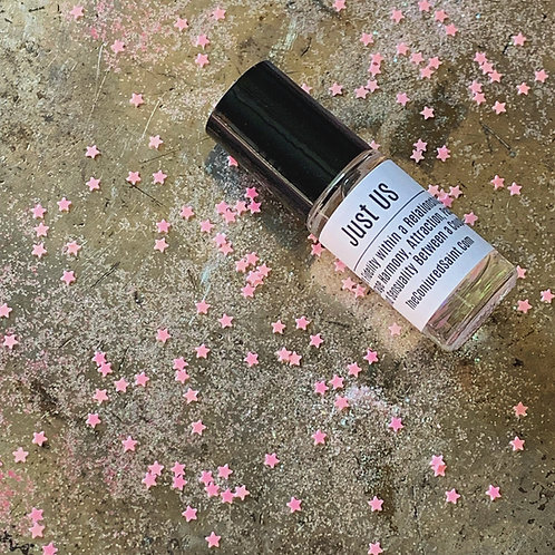 Just Us Alchemy Spray and Roll-On Oil-  Encourage Harmony, Attraction & Passion