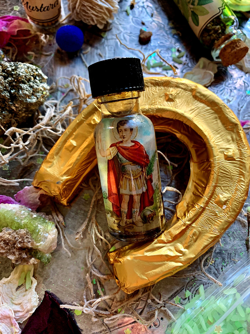 Saint Expedite Oil - Quick Results, Fast Luck, Immediate Action, Spiritual  Aid | theconjuredsaint
