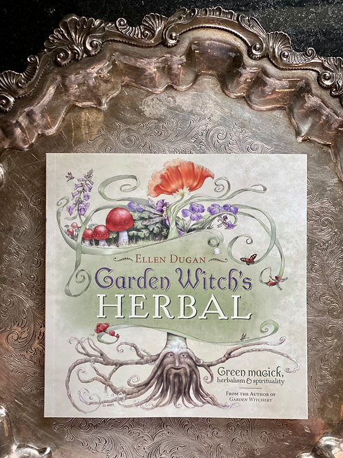 Garden Witch's Herbal Book + Free Gift- Gothic Herbs and Forbidden Plants