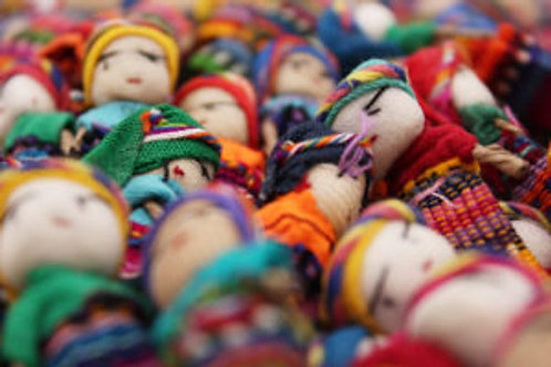 Guatemalan Worry Doll- Dreamcatchers &  Spiritual Amulets- Remove Worry