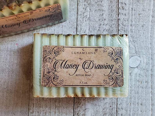 Money Drawing Ritual Soap- Bring in The CASH
