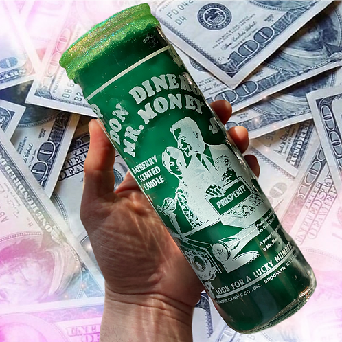Don Dinero/Mr. Money (Bayberry) Scented Ritual Candle XXX POWER