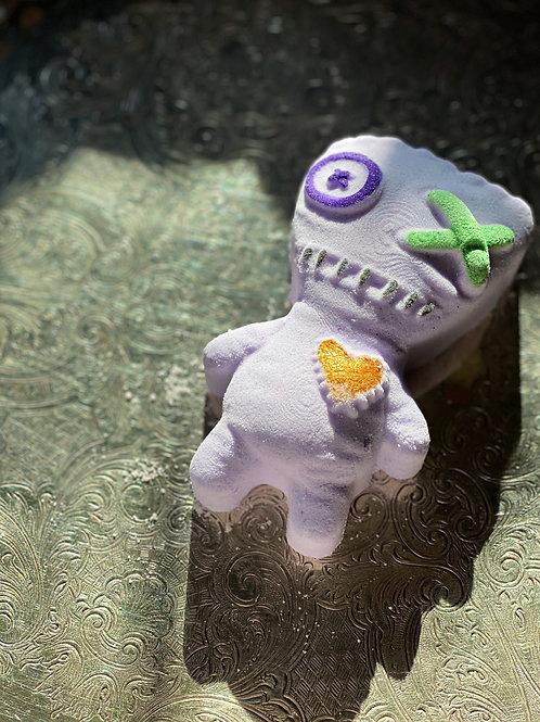 Voodoo Doll Bath Bomb- Invoke Self-love, love, Peace, Relaxation