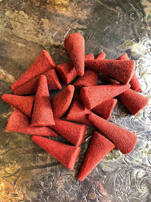 Blockbuster Signature Premium Handcrafted Cone Incense - Spiritual Dynamite