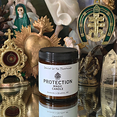 Protection Magic Candle-  Protection Against Psychic Attacks