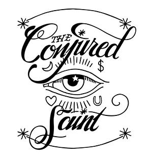 The Conjured Saint Eye Logo