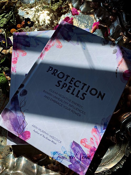 Protection Spells Book + FREE GIFT
