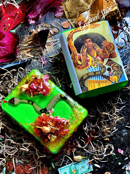 St. Martha the Dominator Soap -Slay Your Inner Demons or Dominate and Control