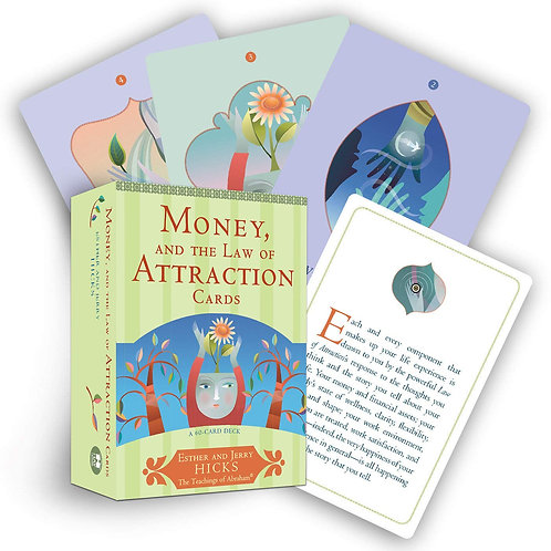 Money, and the Law of Attraction Cards + FREE GIFT