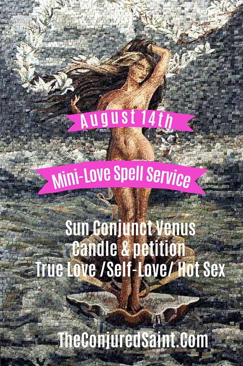 Sun Conjunct Venus Group Love Service -Aug14th-True Love, Self-Love, Hot Sex