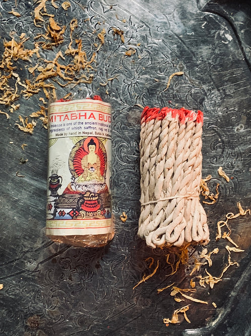 Hand-Made Amitabha Buddha Ritual Incense- Mediation, Purification, Blessings