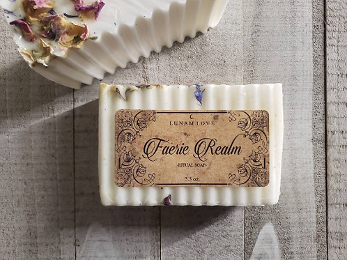 Faerie Realm Soap-  Attract Faeries Around You