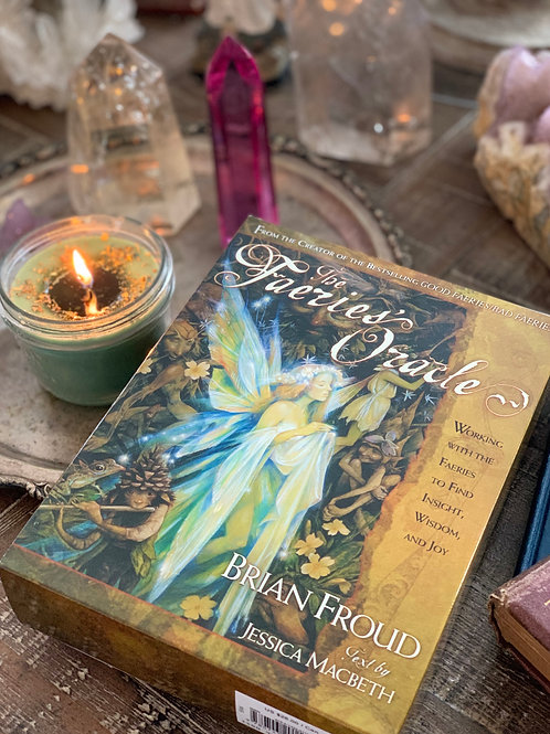 The Faeries Oracle  (Book & Cards) + Free Gift - Communicating with The Faeries