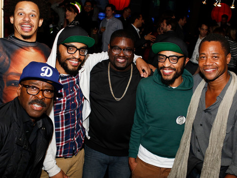 ERIC ANDRE + COURTNEY B VANCE + THE LUCAS BROTHERS + LIL REL HOWERY + CUBA GOODING JR