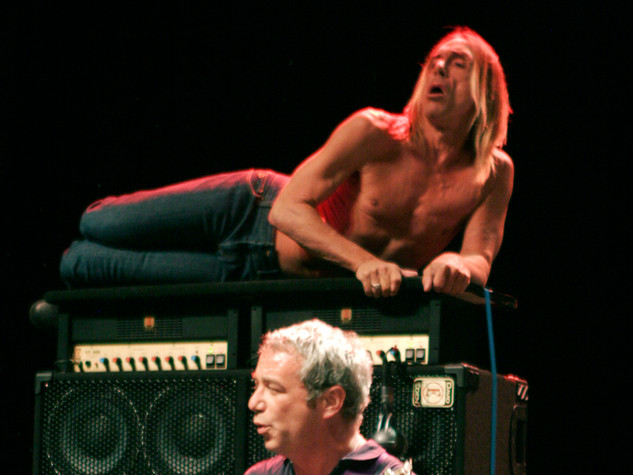 IGGY POP + THE STOOGES