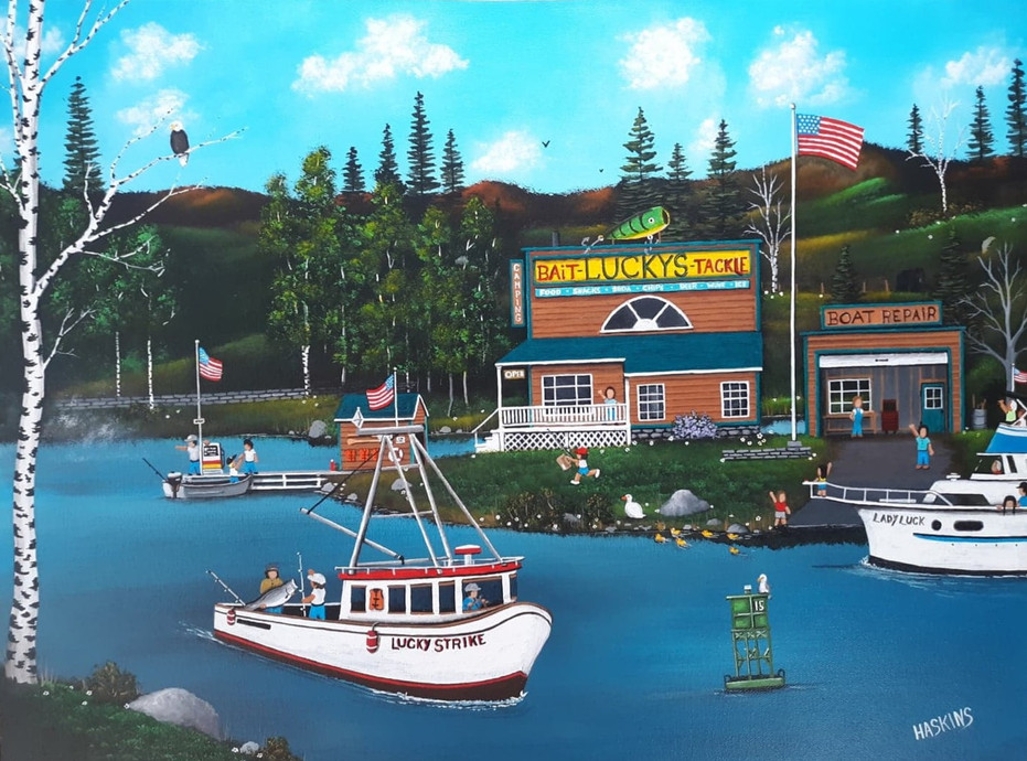 """""""Lucky's Bait and Tackle"""""""