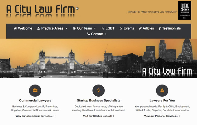 A very different type of law firm