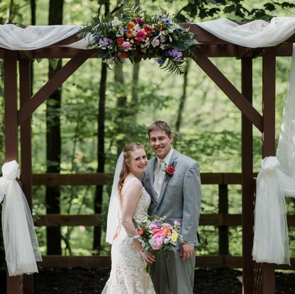 Woodland Spring Wedding
