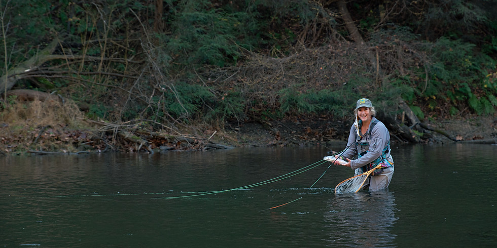 Fly Fishing Meetup at Mohican State Park
