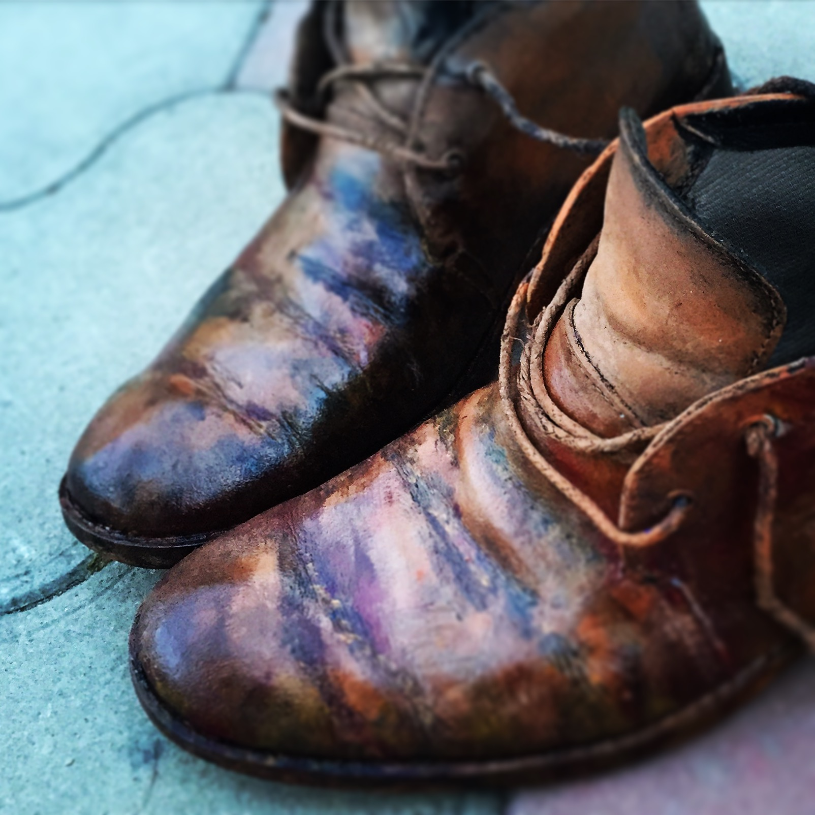 Декор. Ботинки Волшебника