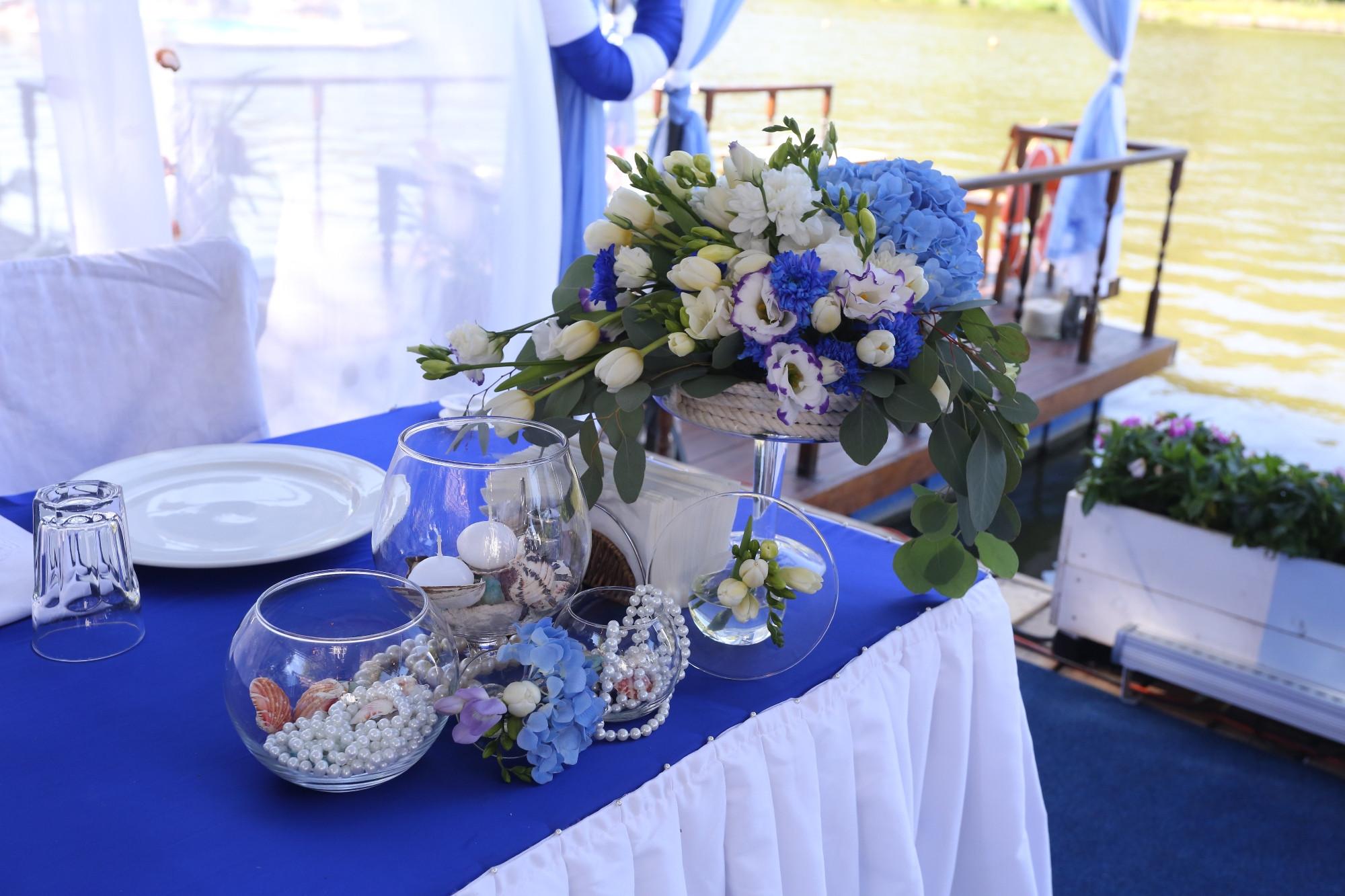 Свадьба в ресторане Причал