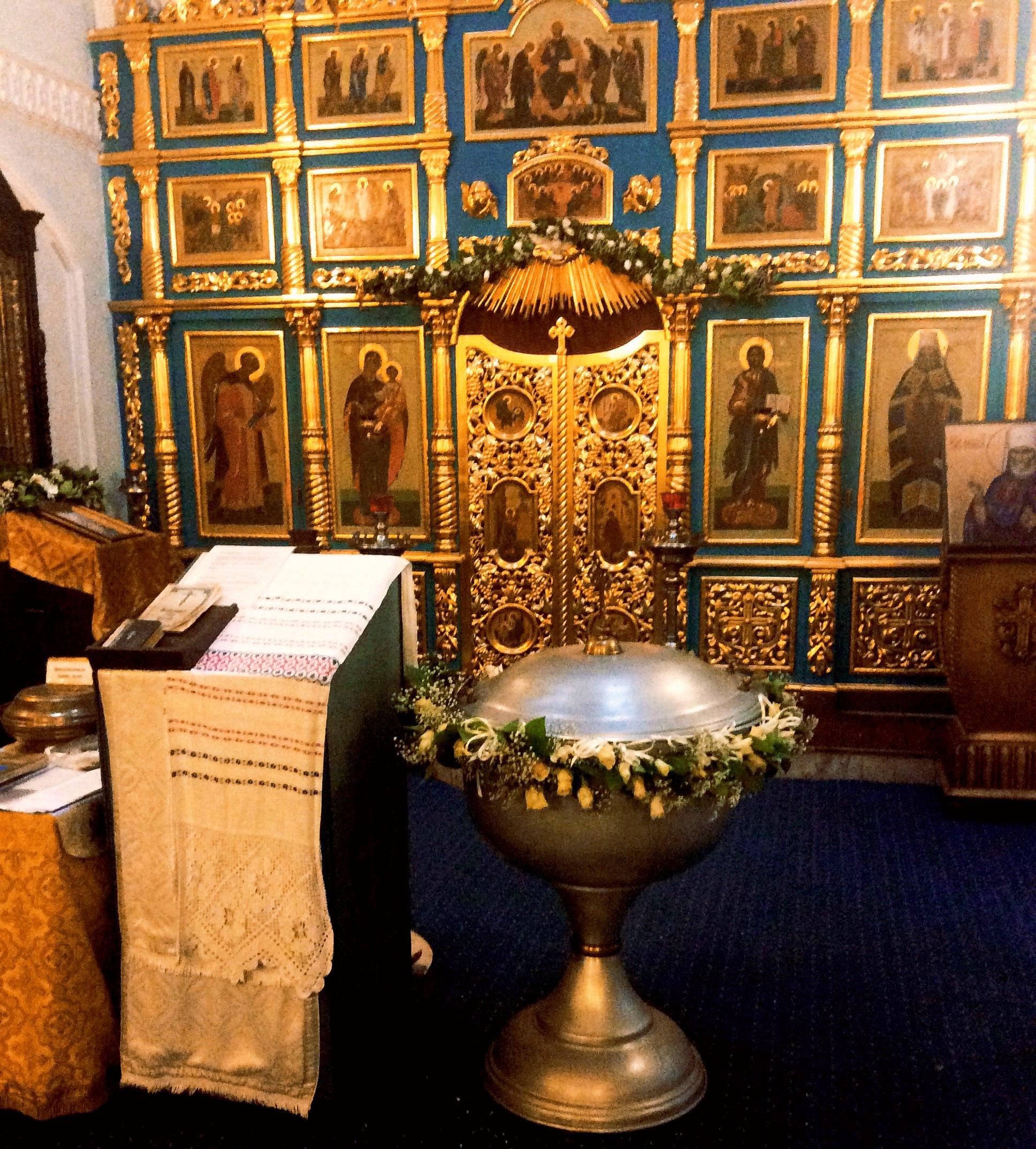 Оформление Храма