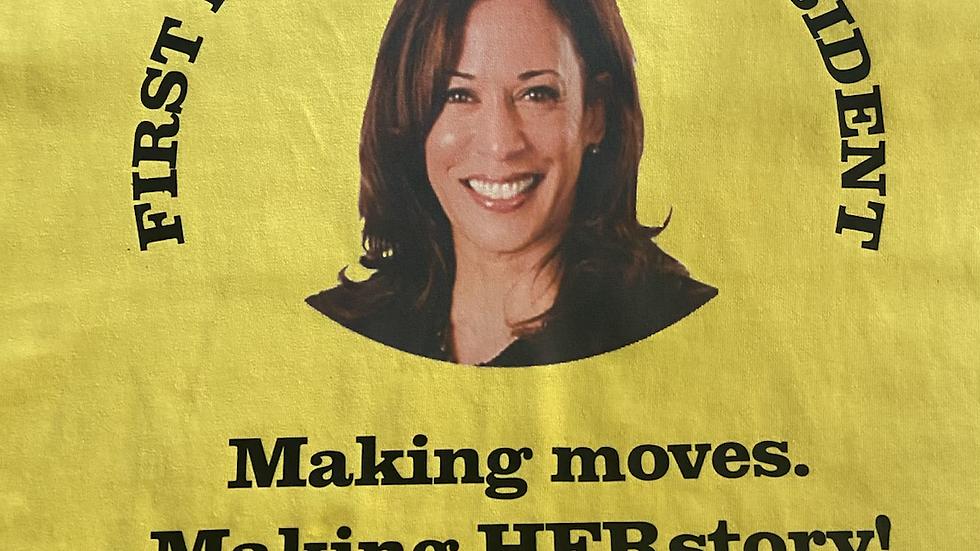 1st Female VP!