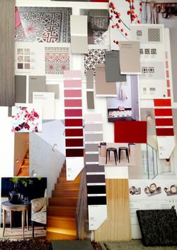Farbkonzept Privathaus