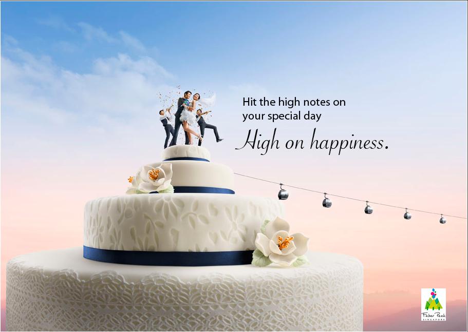 Sentosa Wedding Cake