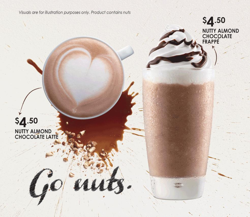 McCafe Go Nuts