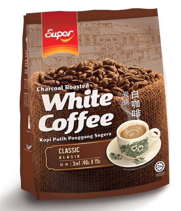 Super white coffee classic