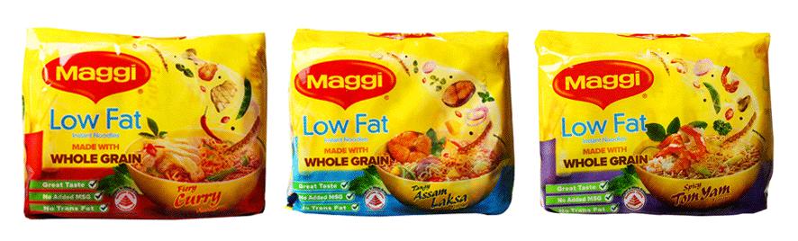 Maggie lowfat instant noodle
