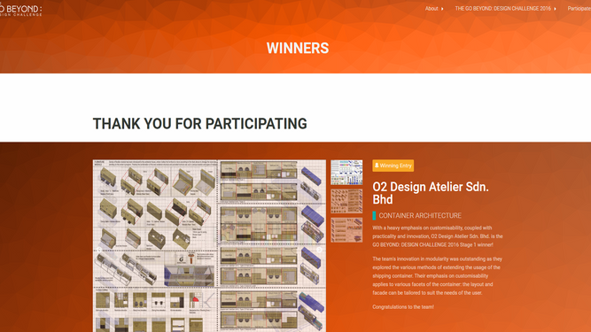 O2DA wins international competition to upcycle shipping containers into modular habitat.