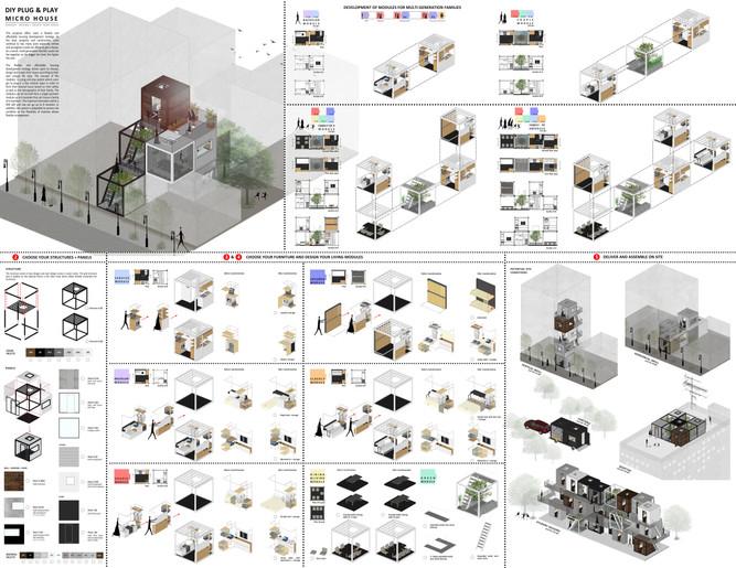 O2DA Wins Future House: MICRO HOUSE Competition