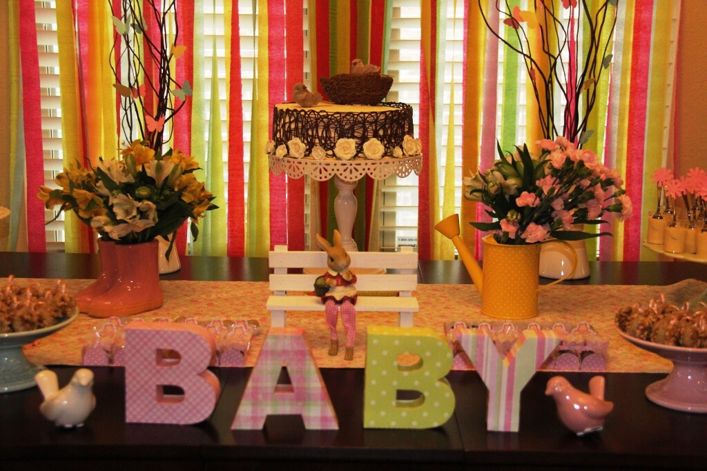 Baby Shower: Sienna's Garden