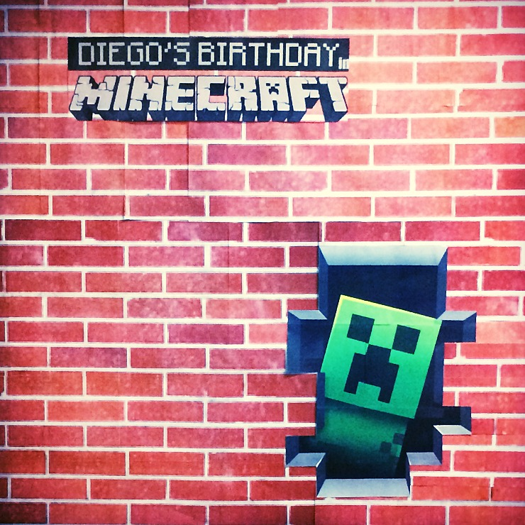 Kids B-day: Minecraft - Tx