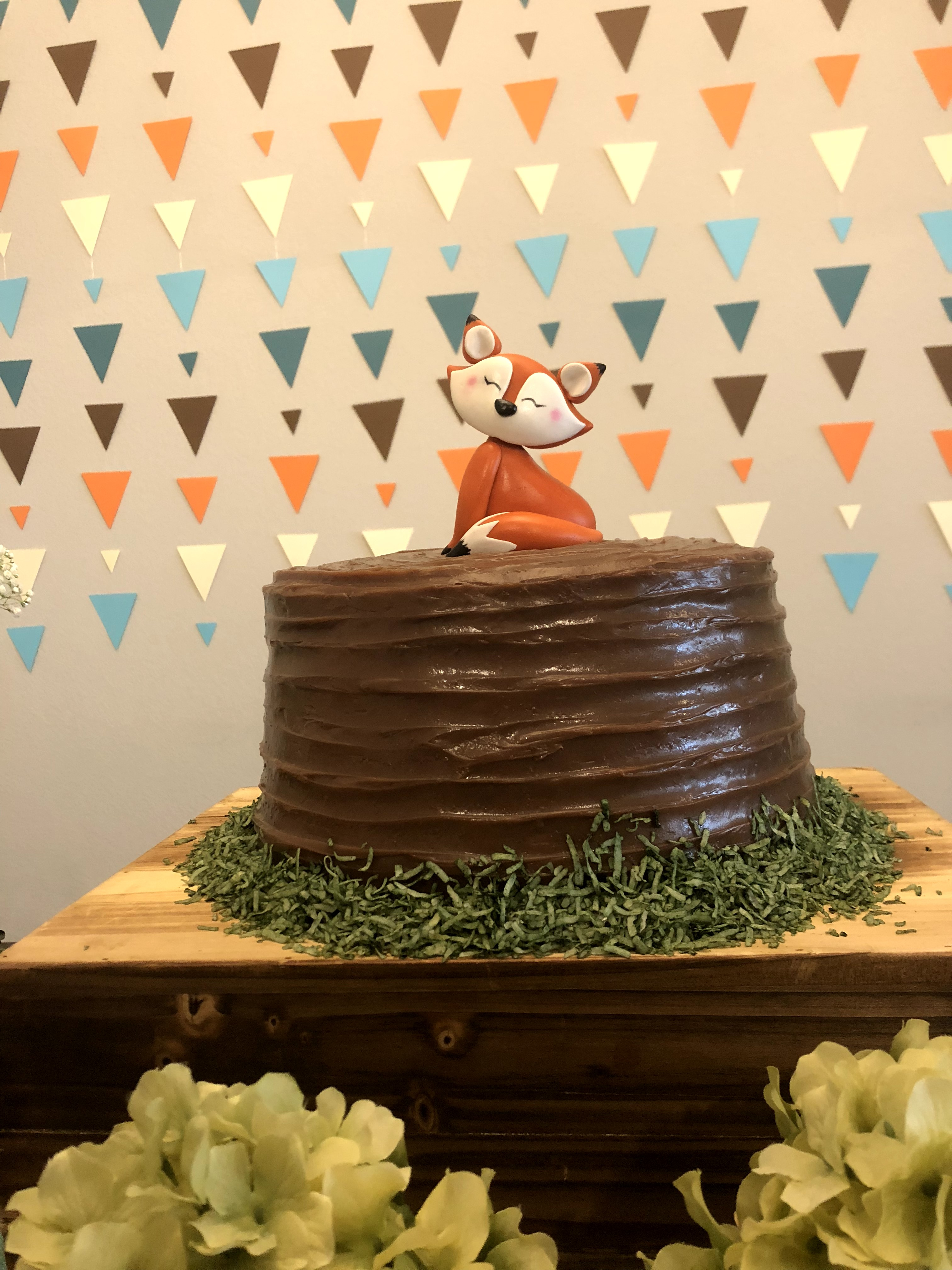 Cake and Backdrop by IMAGINE